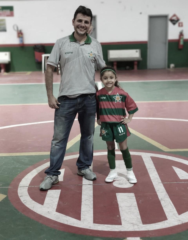 Com Marcus Menezes como gestor, Fut 7 da base da Portuguesa-RJ tem estrela feminina entre os garotos