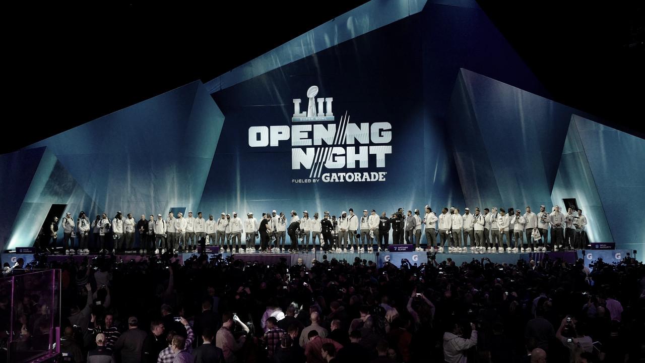Opening Night: la previa a la gran cita del Super Bowl