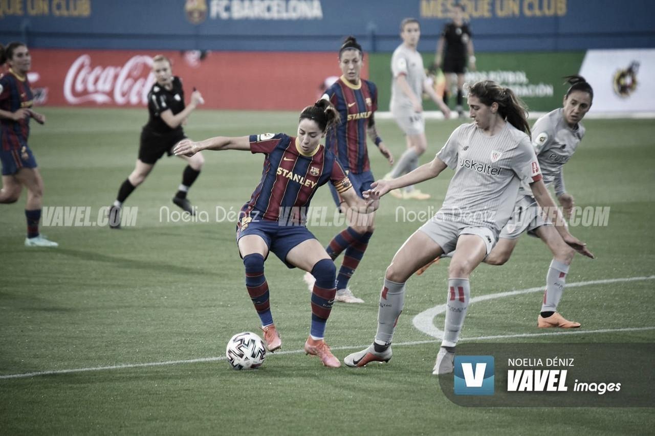 Resumen: Athletic Club vs FCB Femení (0-4)