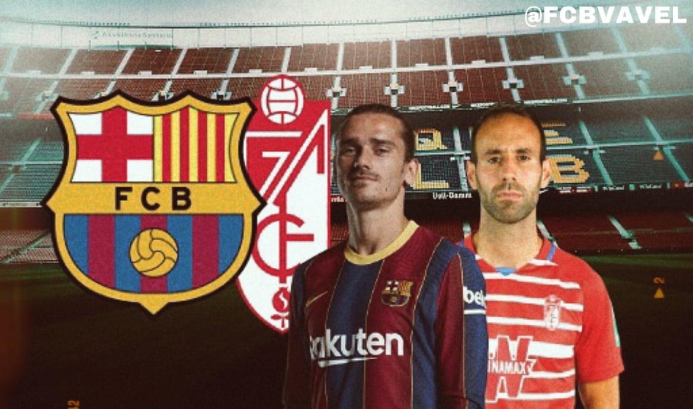 Previa FC Barcelona-Granada CF: a liderar en solitario