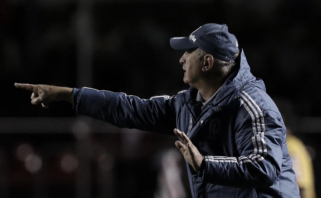 """Felipão quer """"esquecer"""" derrota para Boca Juniors e foca na decisão contra Flamengo pelo Brasileiro"""