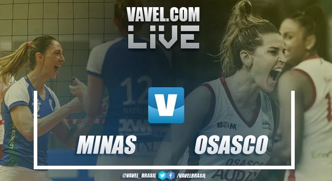 Resultado Itambé/Minas x Osasco-Audax pela semifinal da Superliga (3-1)