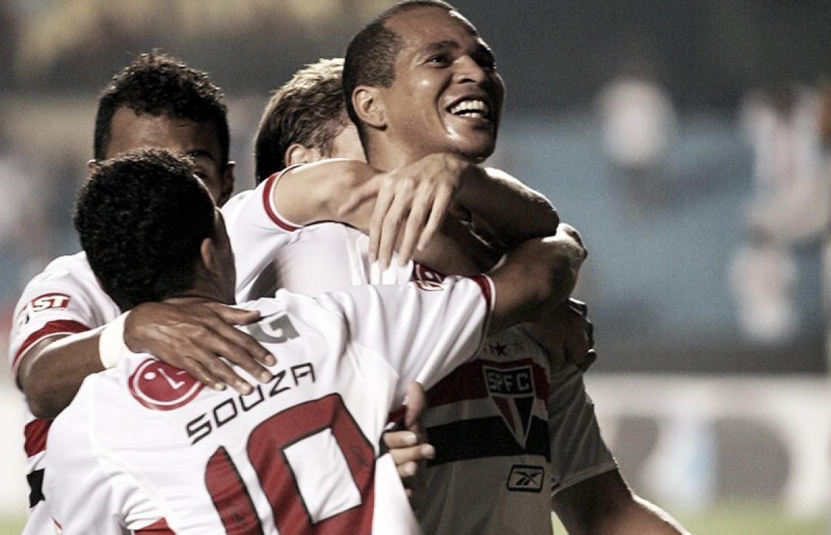 Recordar é viver: em 2007, Aloísio e Dagoberto protagonizam goleada do São Paulo sobre Paraná