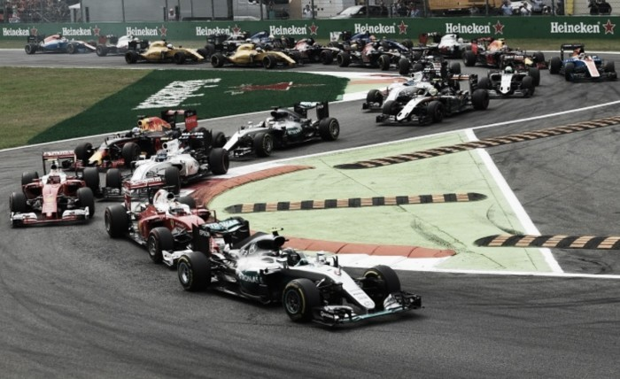 Italian GP: Rosberg cuts Hamilton lead to two points at Monza