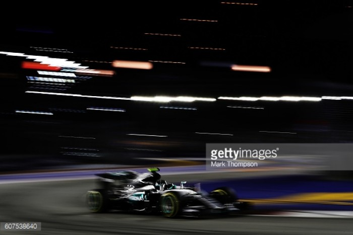 Singapore GP 2016: Rosberg holds off Ricciardo to regain Championship lead