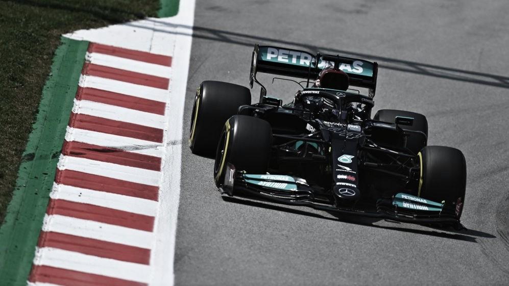 GP España. Libres 2: Mercedes sigue intratable