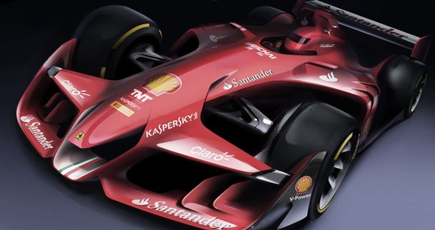 Ferrari excita com proposta visual para a F1 do futuro