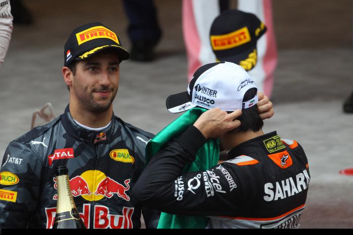 "Daniel Ricciardo: ""Me habían llamado a boxes"""
