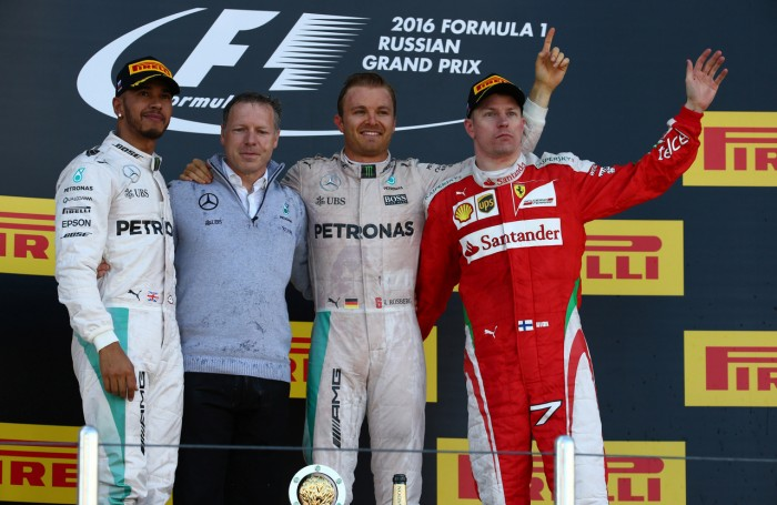 Nico Rosberg conquista a sétima vitória consecutiva na Rússia