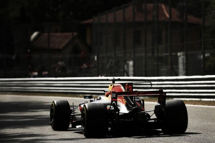Red Bull durante los libres del GP de Italia 2017
