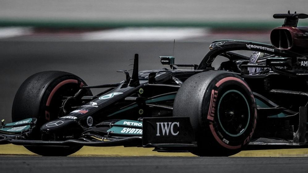 GP Portugal. Libres 2: Hamilton lidera y Alpine sorprende