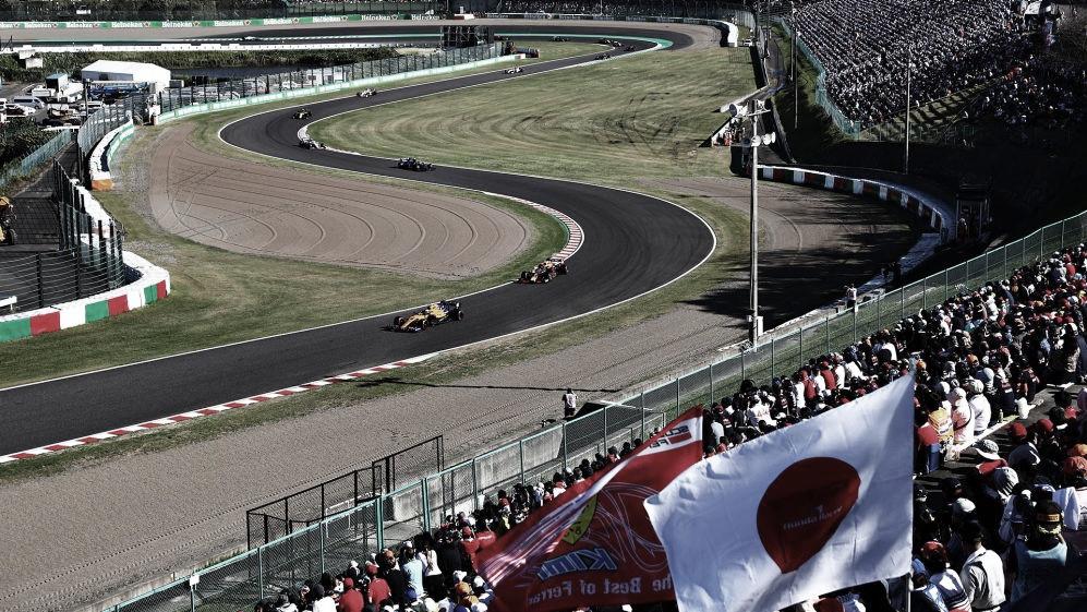 Na Fórmula 1, GP do Japão de 2021 é cancelado