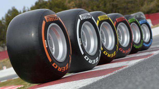 Formula 1: Pirelli Unveil Tire Compounds For Next Four Rounds