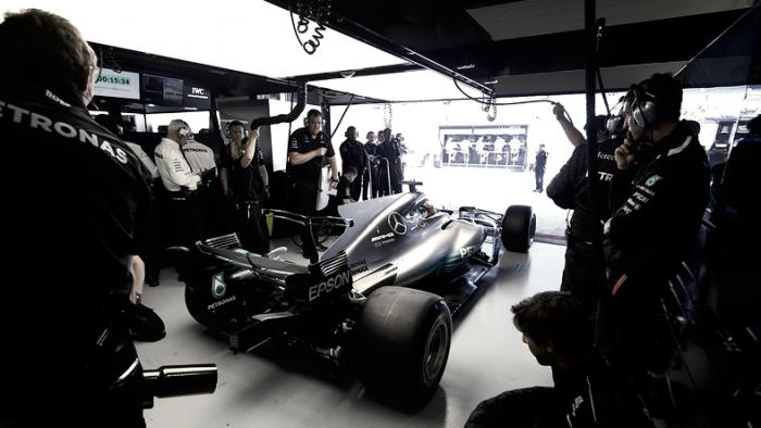 Aggiornamenti in Spagna per Mercedes: via i chili di troppo dalla W08 e nuova sospensione anteriore