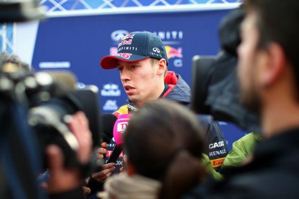 """Daniil Kvyat: """"Creo que como equipo merecemos este podio"""""""