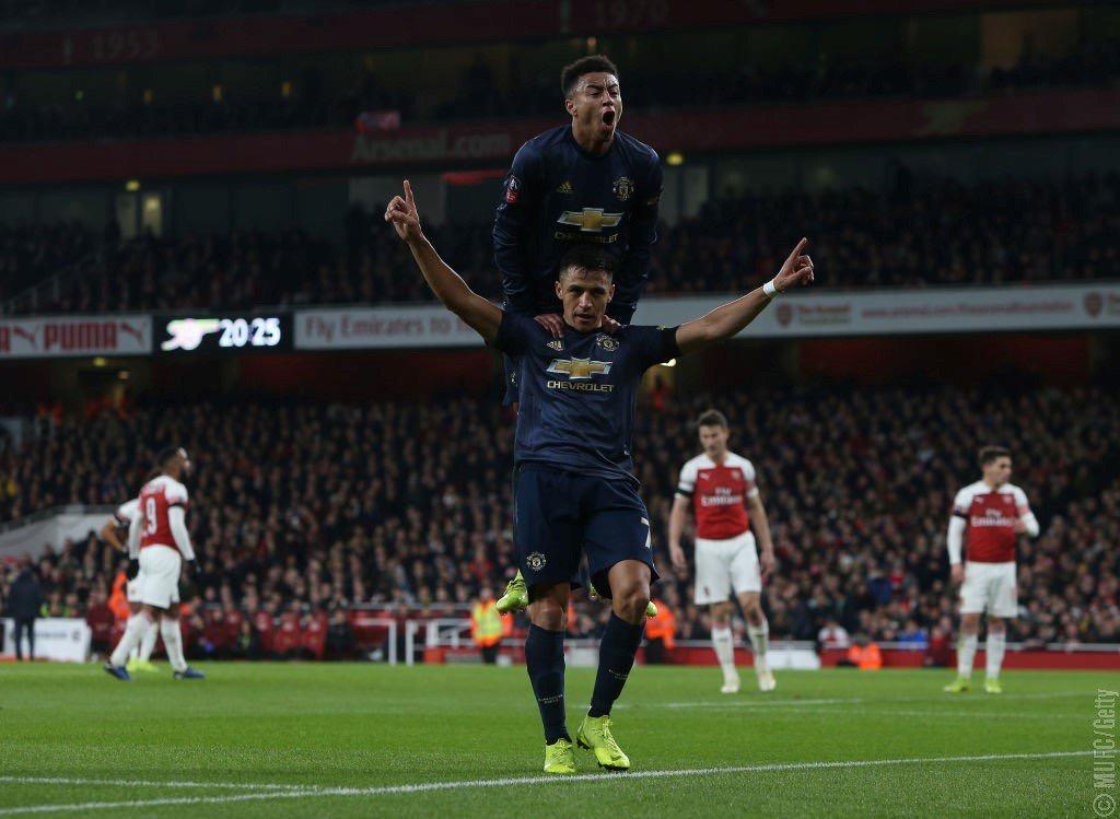 FA Cup - Ottovolante United: i Red Devils battono l'Arsenal e vanno agli ottavi (1-3)