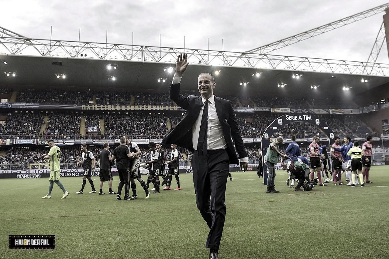 """Apesar do título italiano, Allegri se despede da Juventus: """"Deixo aqui um time vencedor"""""""
