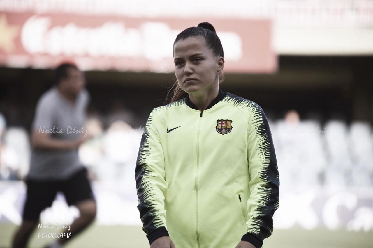 Cuatro jugadoras del FC Barcelona, listas para el Europeo Sub-19