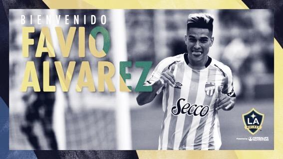 Favio Álvarez se incorpora a LA Galaxy