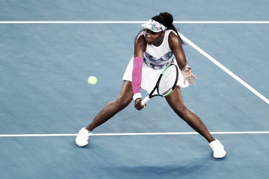 Venus Williamsse impõe e elimina Cornet do Australian Open