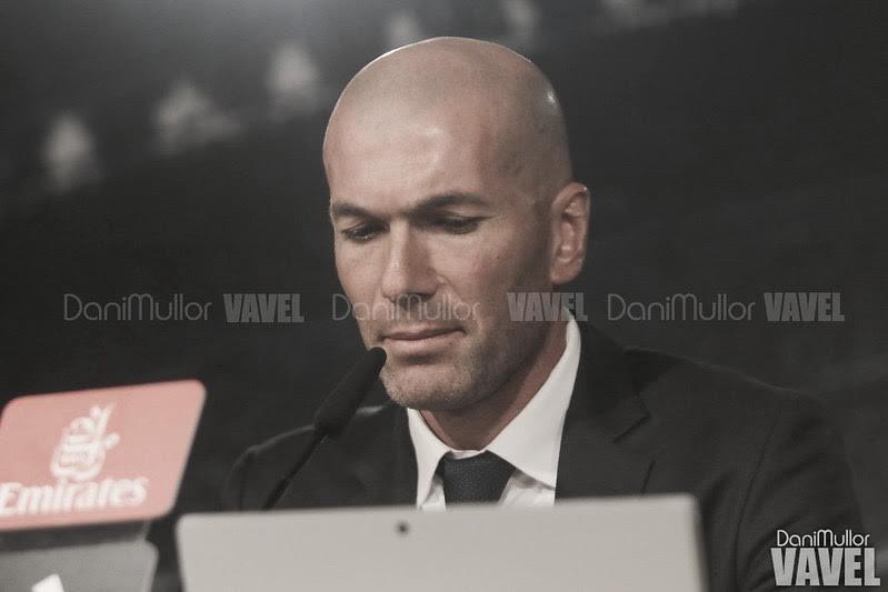 """Zidane: """"Sabemos el partido que nos espera y tenemos que hacer un gran partido"""""""