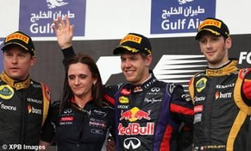Bahreïn : Vettel, vainqueur en solitaire
