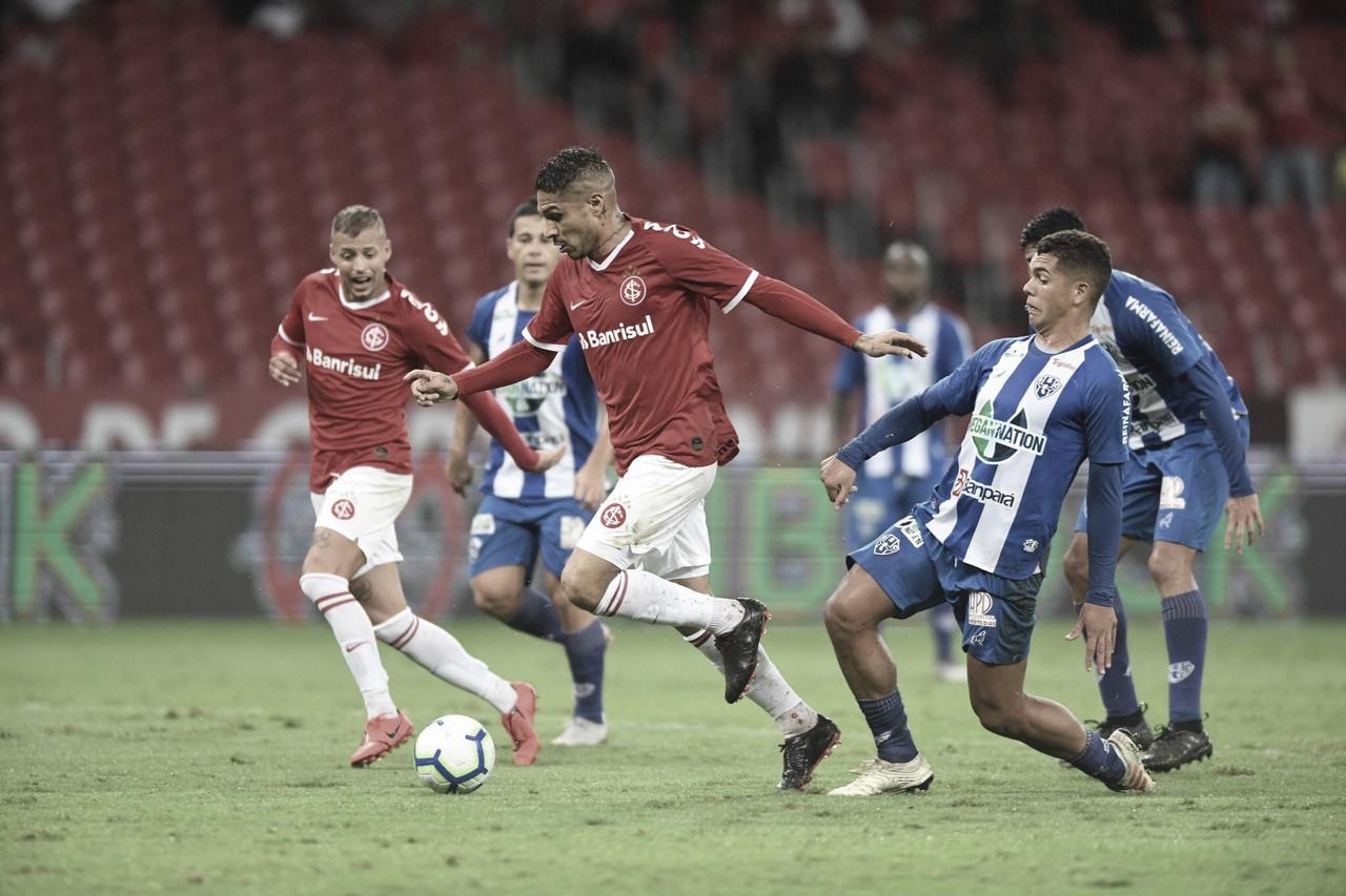De olho na virada,Paysandu recebe Internacional pelas oitavas da Copa do Brasil