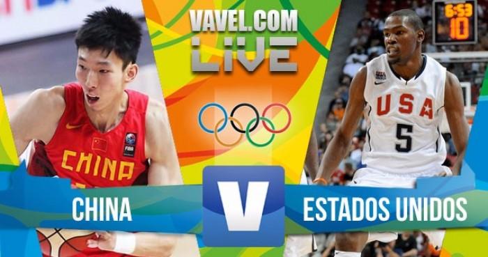Basquete: China x Estados Unidos na Rio 2016