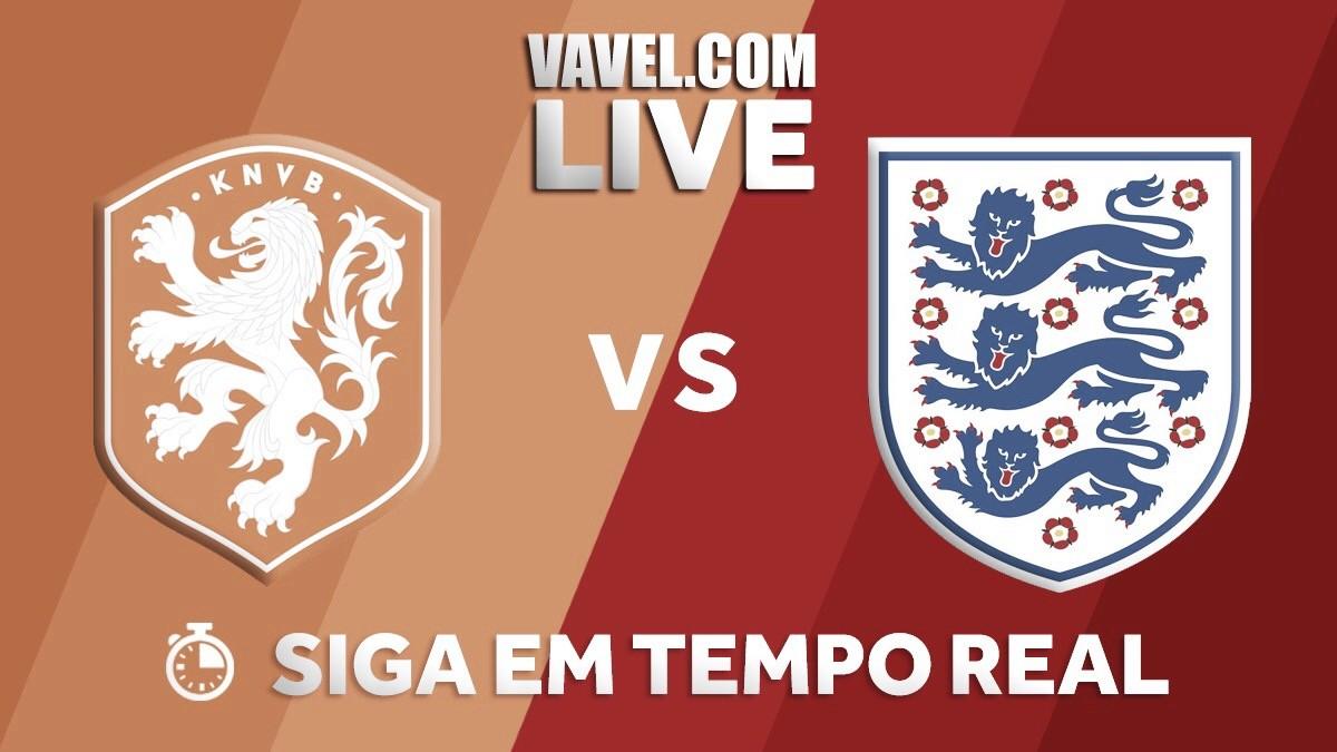 Resultado jogo Holanda x Inglaterra em amistoso internacional (0-1)
