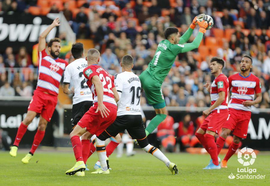 Valencia - Granada CF: puntuaciones del Granada, jornada 13 de La Liga Santander