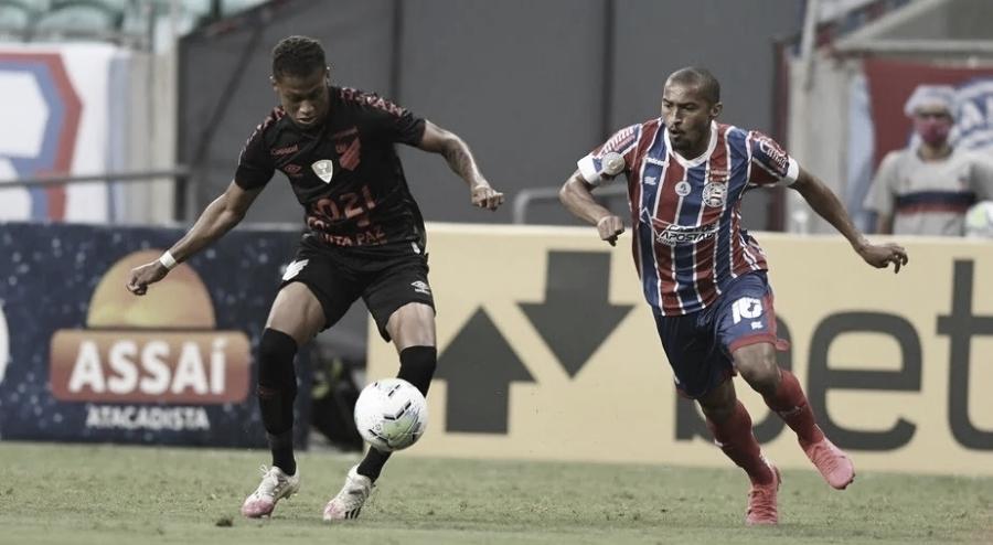 Bahia recebe embalado Athletico buscando subir na tabela do Brasileirão
