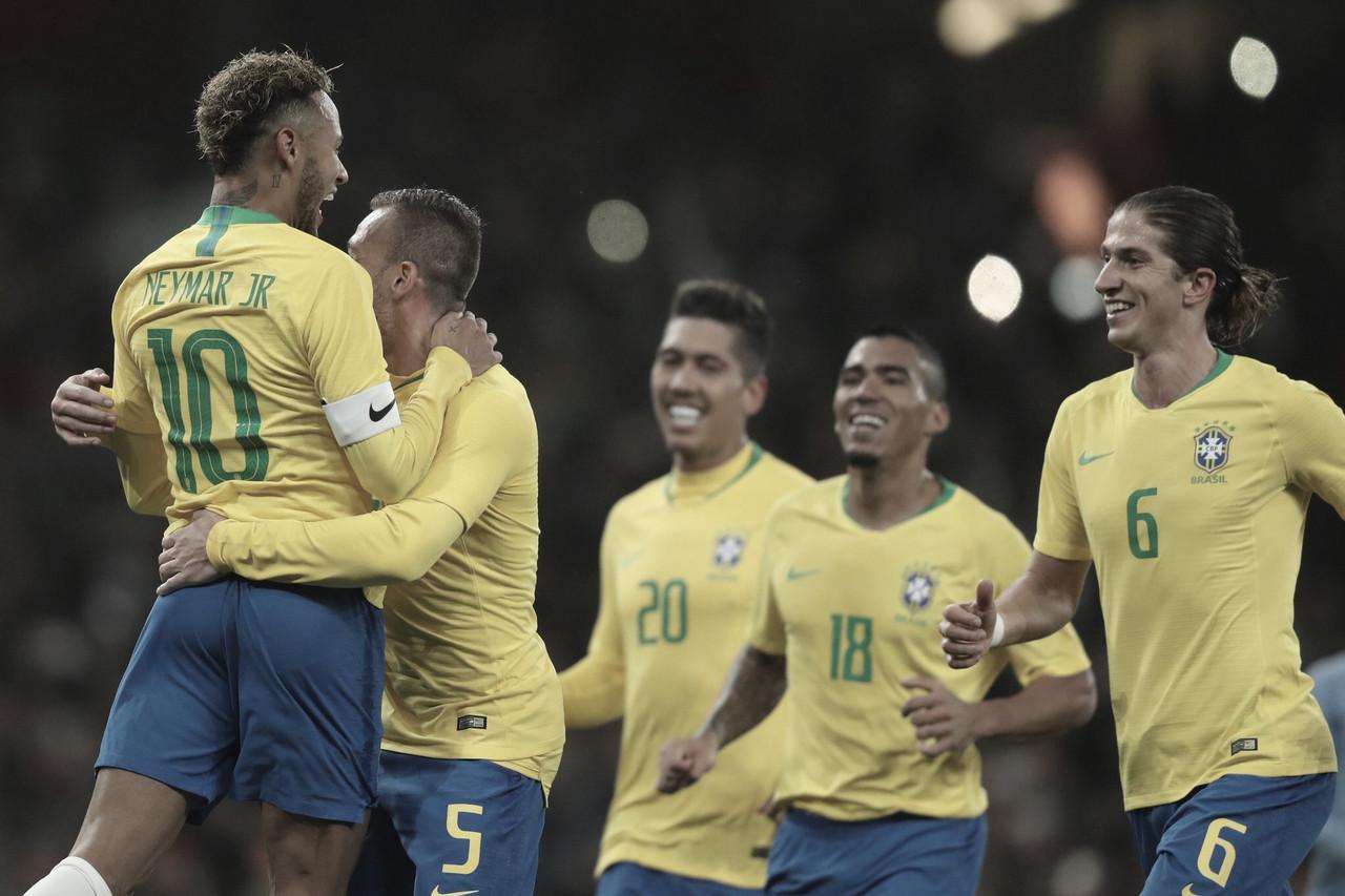 Allan comemora estreia pela Seleção Brasileira: ''Sonho de criança''