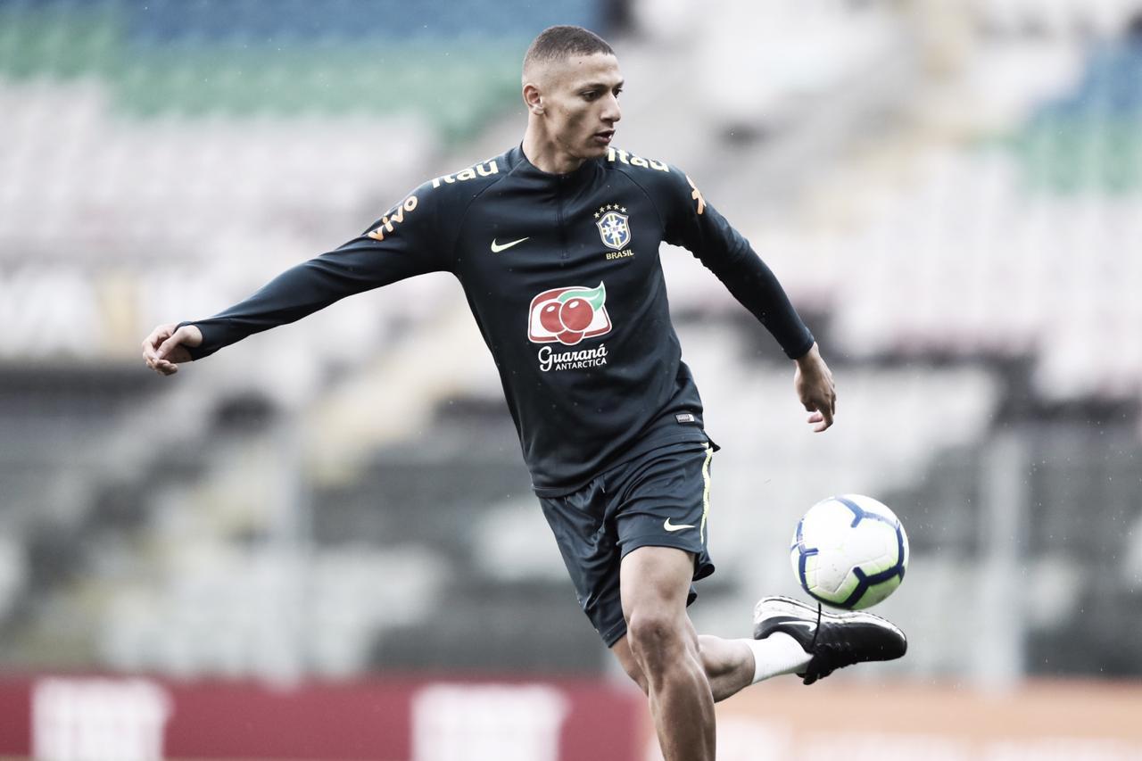 """Richarlison impõe meta com camisa da Seleção Brasileira: """"Artilharia"""""""