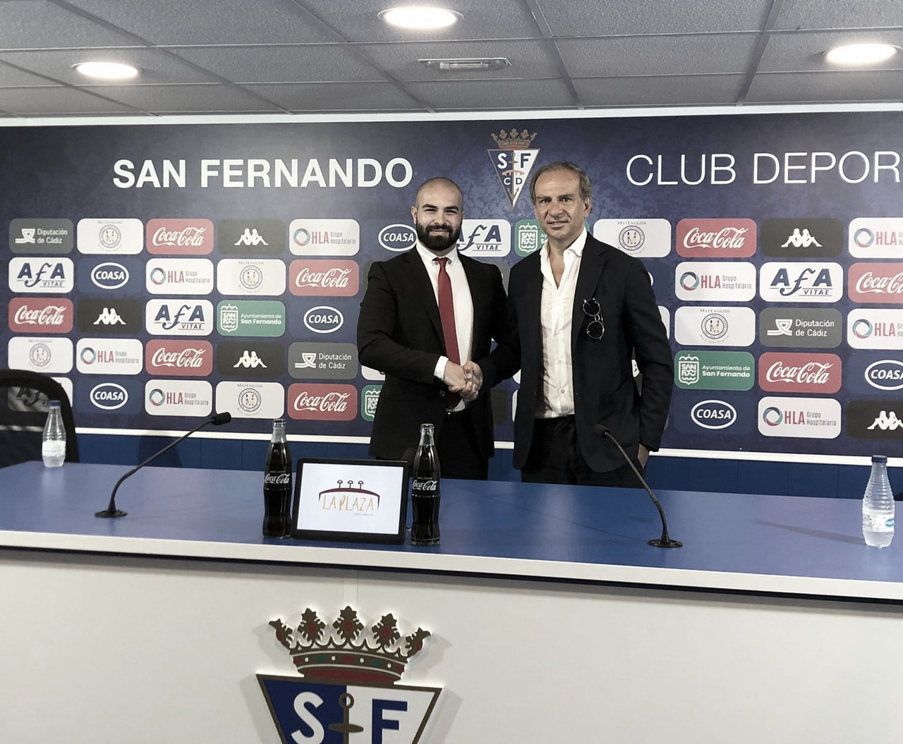 """Filippo Fusco: """"Es un orgullo estar en un equipo como el San Fernando"""""""