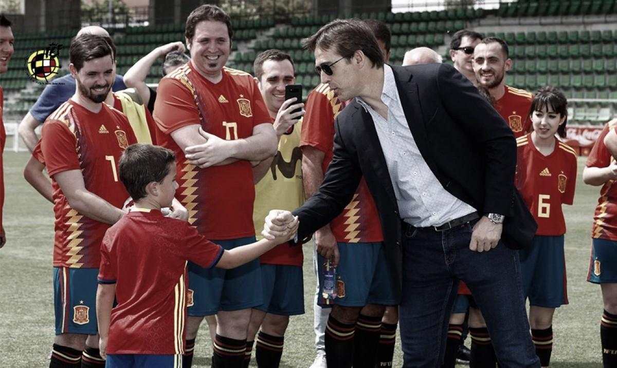 """Julen Lopetegui: """"Diego Costa nos da cosas que no nos dan otros delanteros"""""""