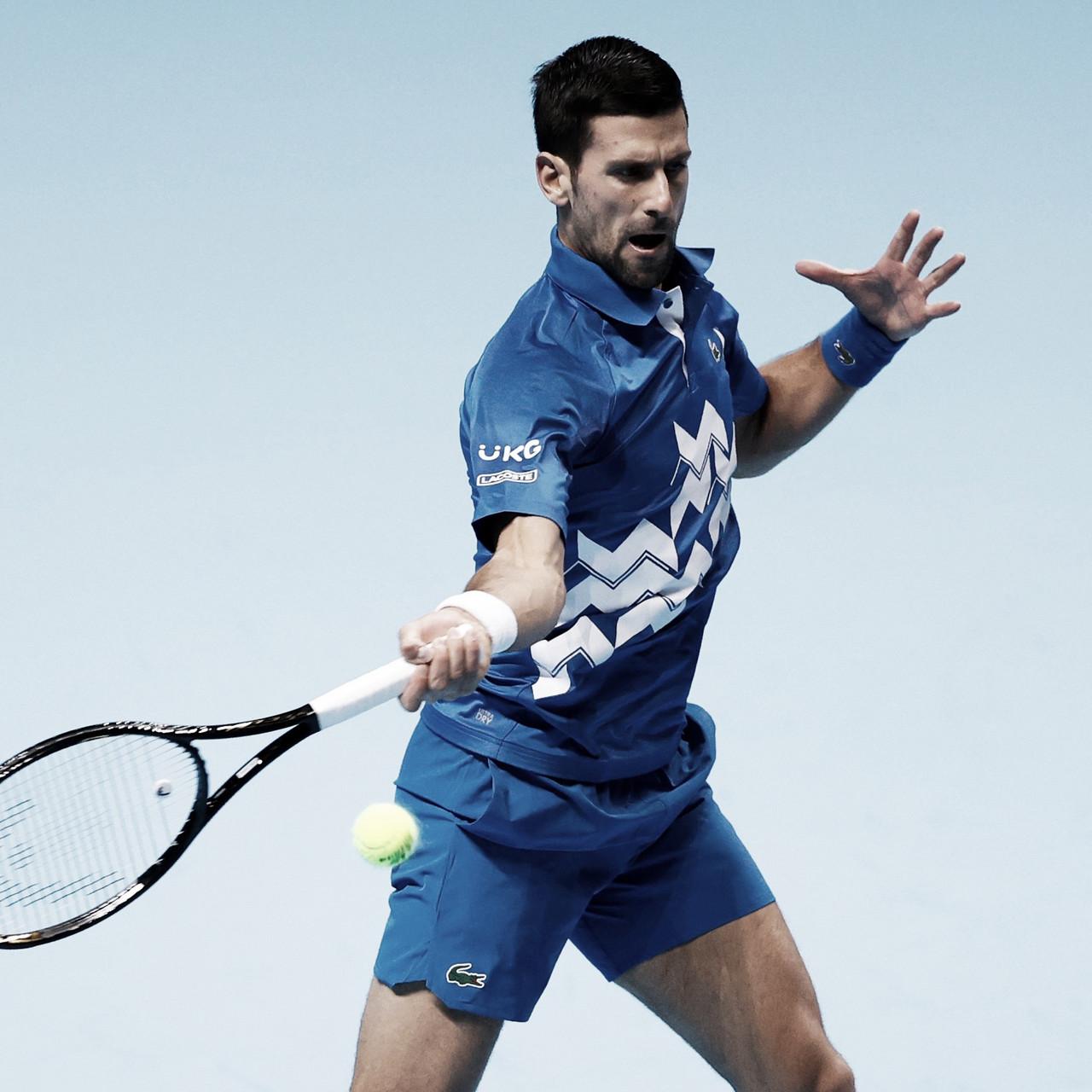 Com tranquilidade, Novak Djokovic vence Diego Schwartzman na primeira rodada do ATP Finals