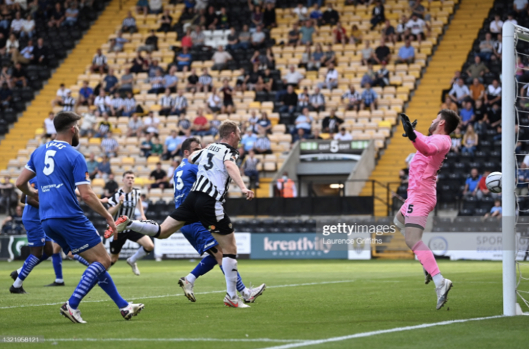 Notts County 3-2 Chesterfield: Magpies victorious in play-off derby