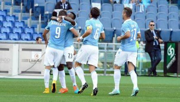Djordjevic y Candreva guían a la Lazio