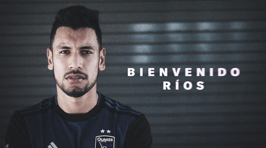 Andrés Ríos se une al Earthhquakes