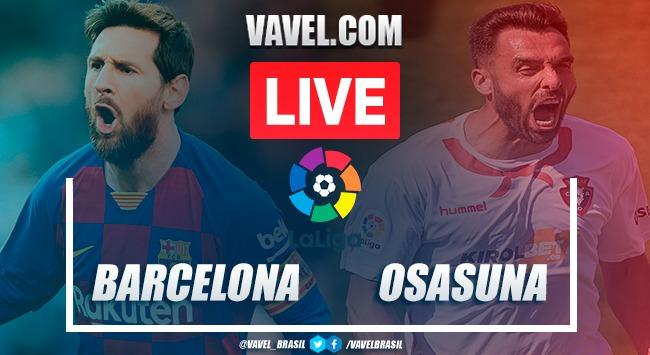 Barcelona vs Osasuna EN VIVO (0-0)