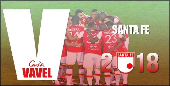 Guía VAVEL Liga Águila 2018-I: Independiente Santa Fe