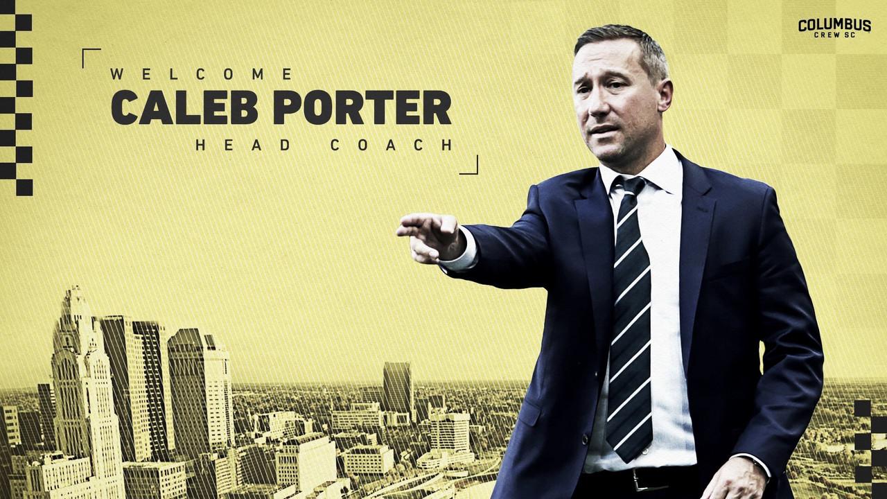 Caleb Porter entrenará a Columbus Crew