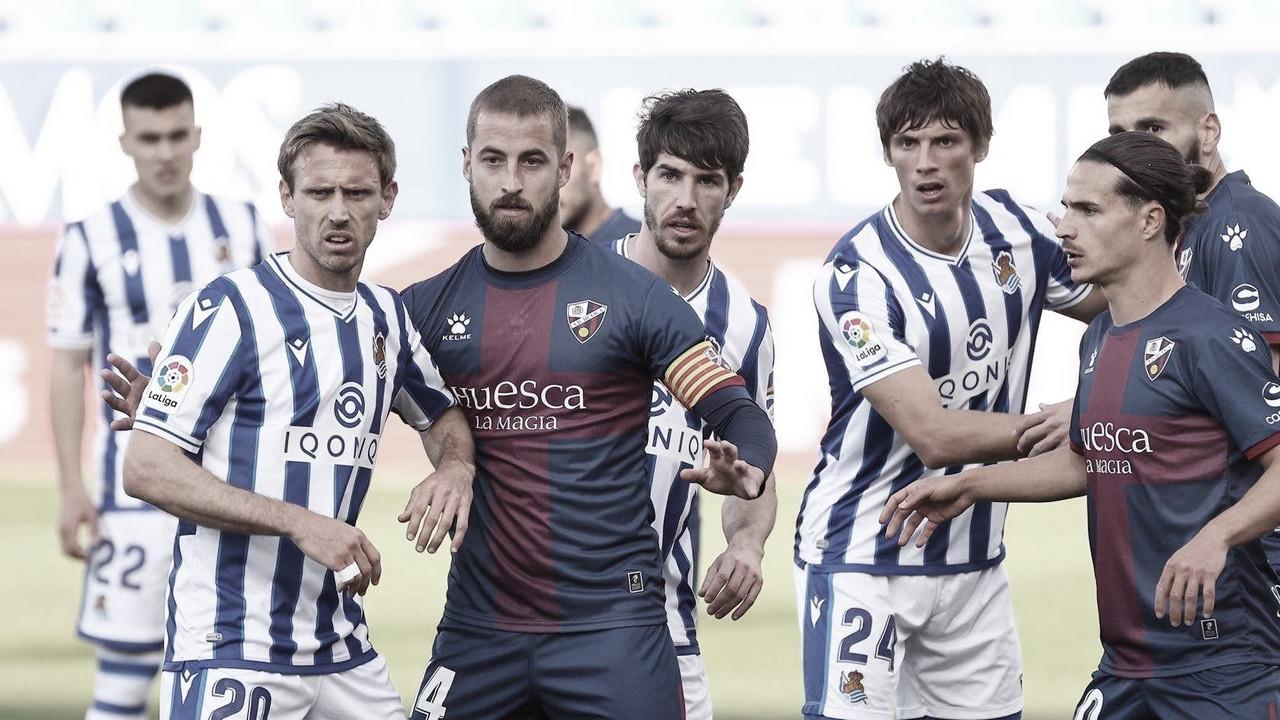 Victoria del Huesca ante una Real sin ideas