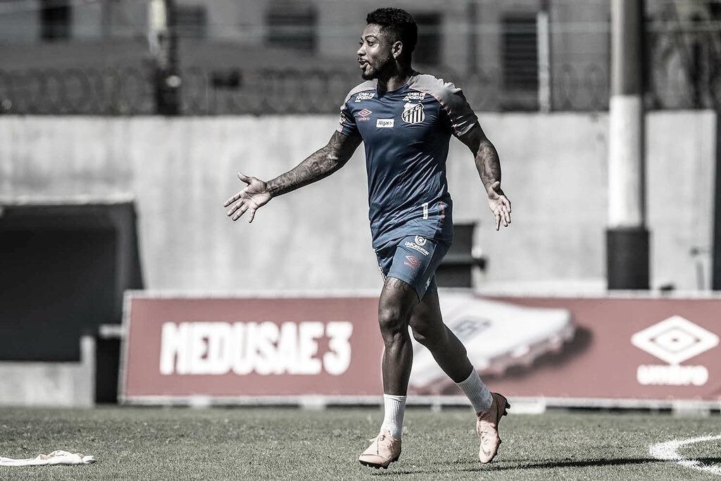 Marinho herda camisa 11 de Rodrygo no Santos