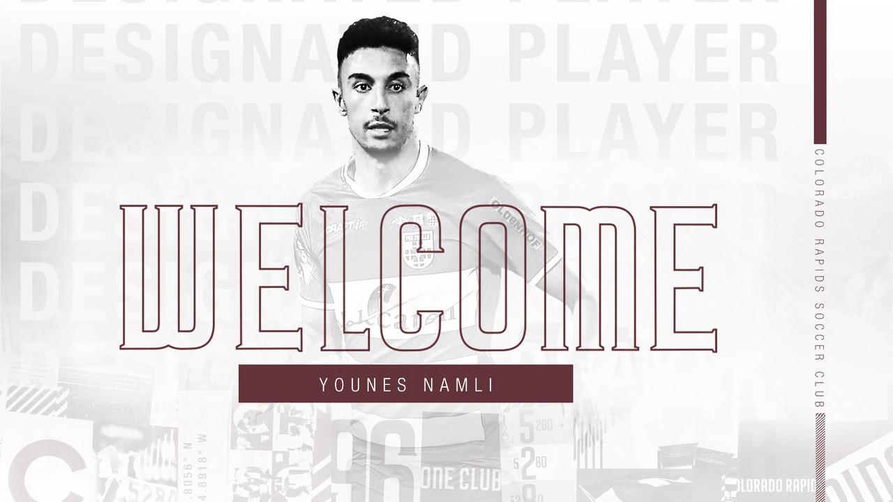 Younes Namli firma por Colorado Rapids