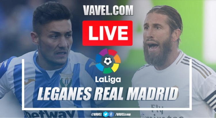 As it happened: Leganes 2-2 Real Madrid
