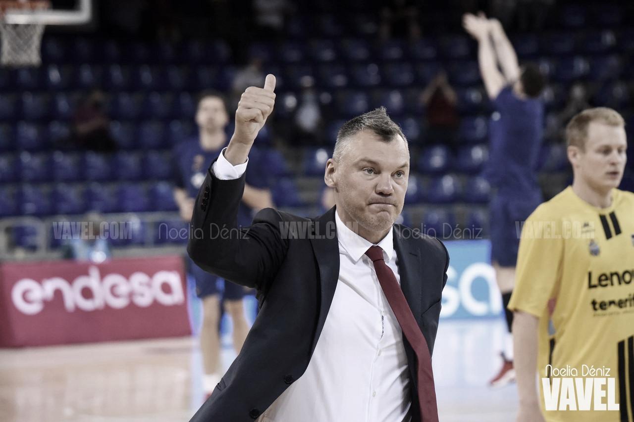 """Saras Jasikevicius: """"Tenemos que estar orgullosos de jugar tan bien"""""""