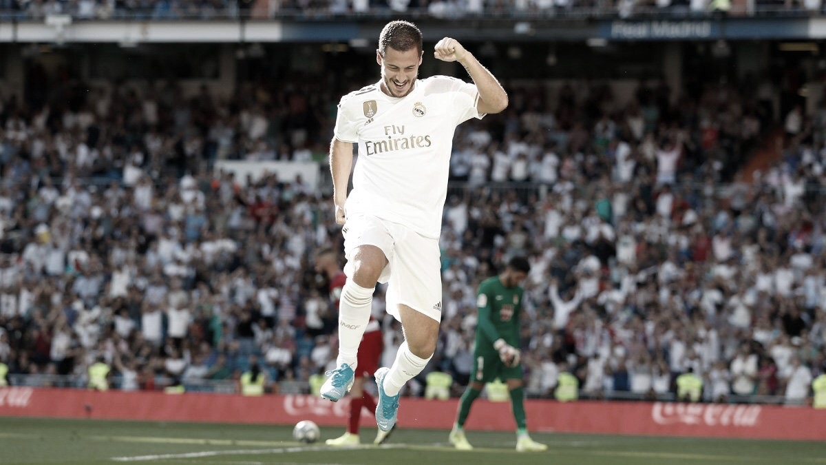 Real Madrid leva susto, mas garante vitória sobre Granada no Bernabéu