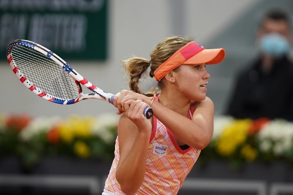 French Open: Sofia Kenin survives test against Liudmila Samsonova