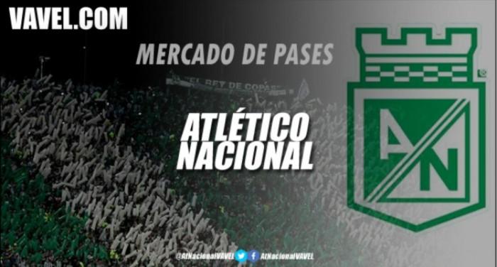 Atlético Nacional todavía tiene 4 cupos disponibles para la inscripción de jugadores